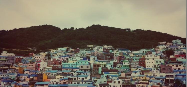 부산 감천 벽화마을