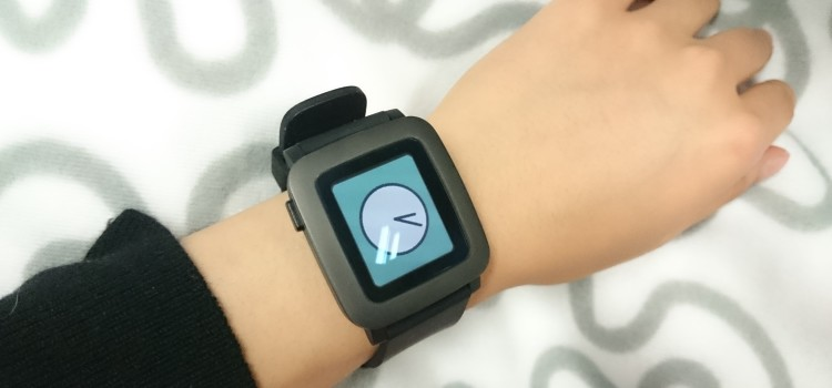 Pebble Time First Impression