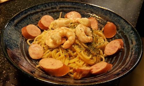 들기름 파스타 (Cold Pasta)