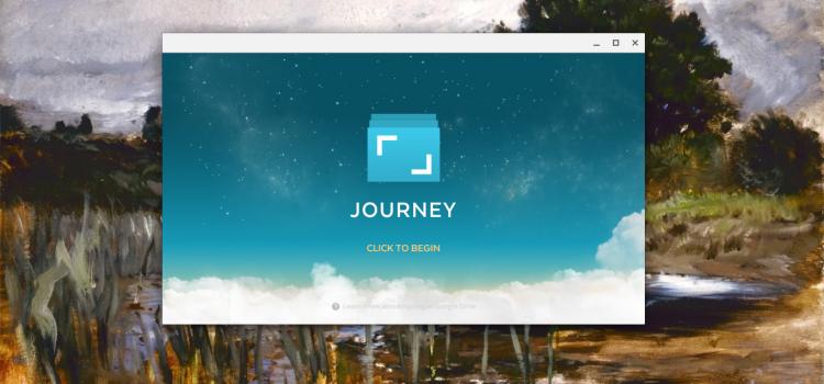 Journey – 일기 쓰는 즐거움을 다시 느끼게 해주는 크롬북 앱