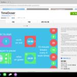 집중을 못하는 날 위한 시간 관리 크롬북 앱, TimeDoser