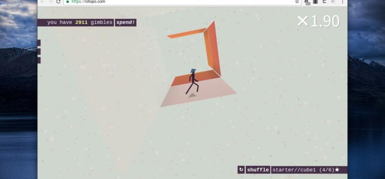roTopo – 웹에서 즐기는 3D 퍼즐 게임